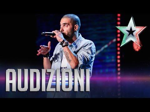 Skuba Libre, il calabrone delle parole | Italia's Got Talent 2015