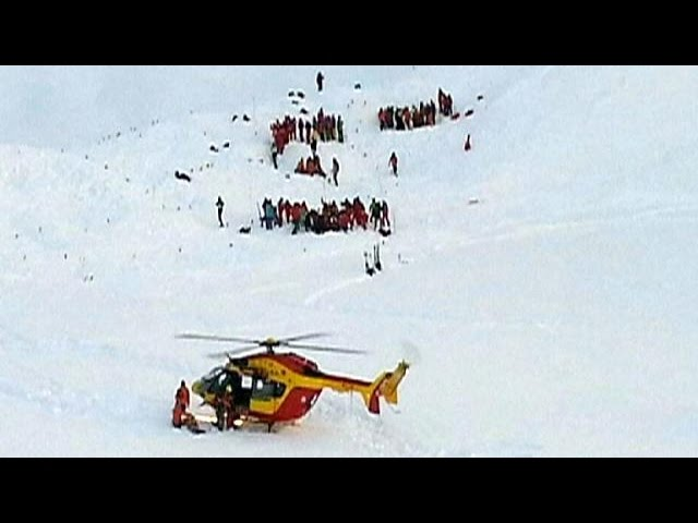 French Alps avalanche kills at least 3 people, including 2 school children