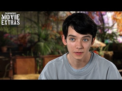 Miss Peregrine's Home For Peculiar Children  Onset visit with Asa Butterfield 'Jake'