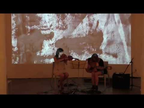 Jessica Pavone, Mary Halvorson @ Fridman Gallery 6-29-16 1/6