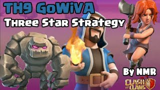 Clash of Clans|GoWiVa|Strategy Th9||By Clash With NMR||