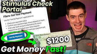 Stimulus Check Portal for DIRECT DEPOSIT Now OPEN