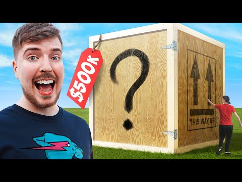 I Bought The World's Largest Mystery Box! ($500,000) - MrBeast