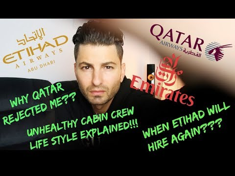 CABIN CREW JOB ✈ 15 QUESTIONS & ANSWERS ✈ ETIHAD ✈ EMIRATES ✈ QATAR