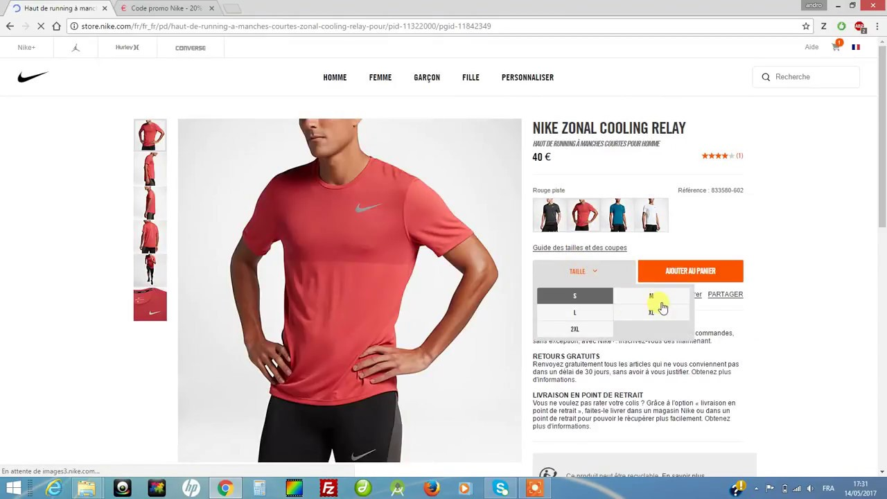 huge selection of f0340 24b29 Code Promo Nike  cashback Nike jusquà 4% remboursés