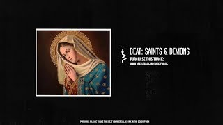 """Saints & Demons"" - 90s Boom Bap HipHop Instrumental / Base de Rap West Coast"