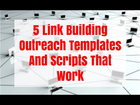 5 Link Building Outreach Templates And Scripts That Work