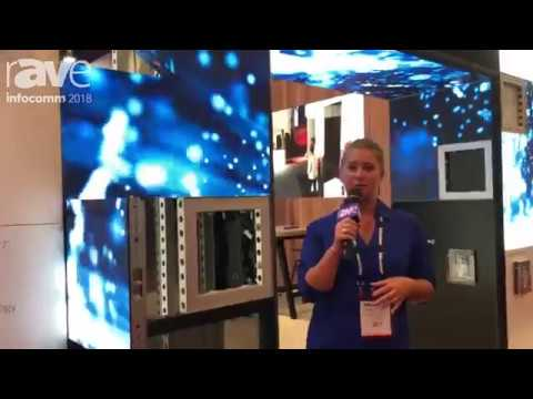 Aluvision's LED tile 55 P2 at InfoComm 2018
