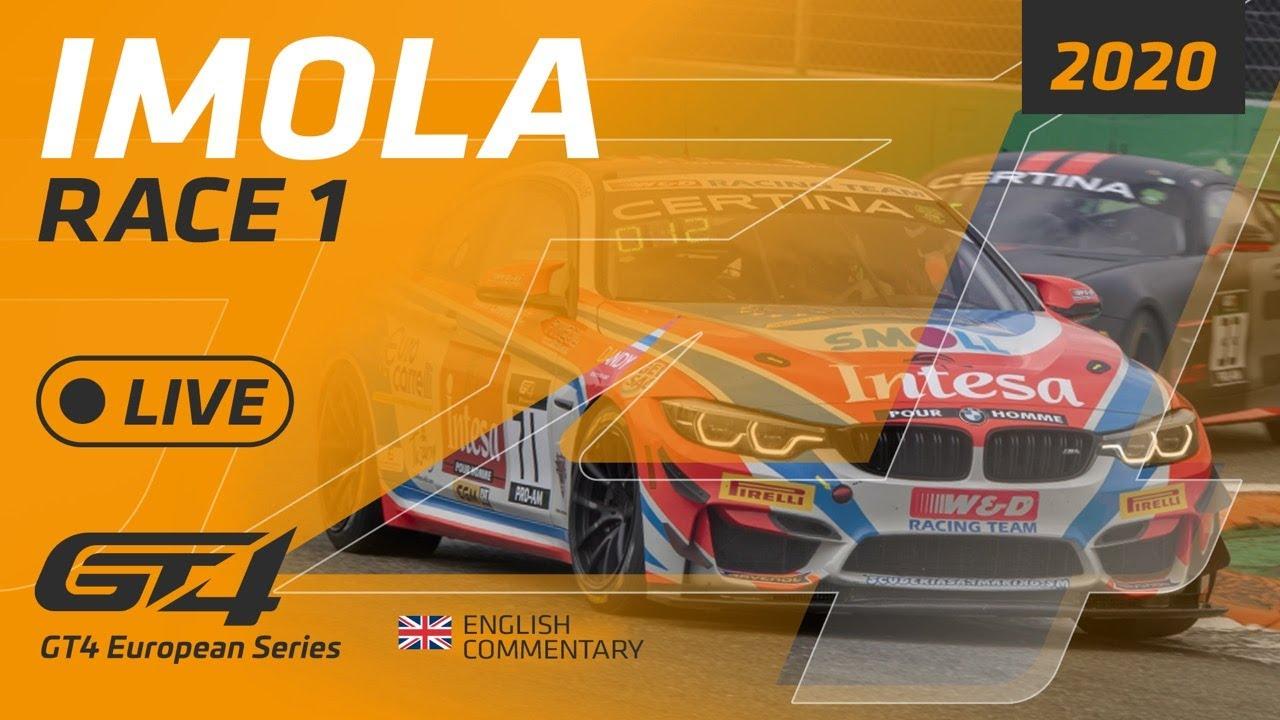 RACE 1 - IMOLA - GT4 EUROPE IMOLA 2020