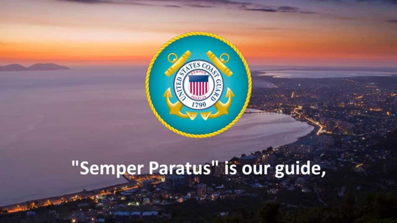 Semper Paratus United States Coast Guard Marching Song YouTube - States of america song youtube