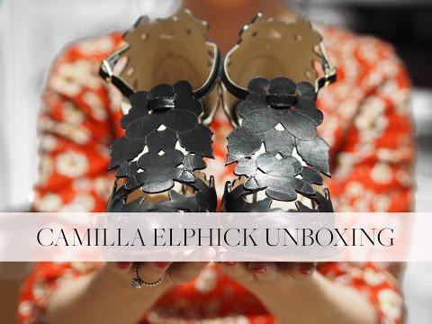 Luxury Shoe Unboxing - Camilla Elphick | Emma Sales