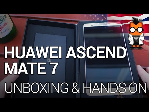 Huawei Ascend Mate 7: Unboxing and First Hands On