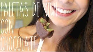 PALETITAS DE KIWI CON CHOCOLATE! Thumbnail