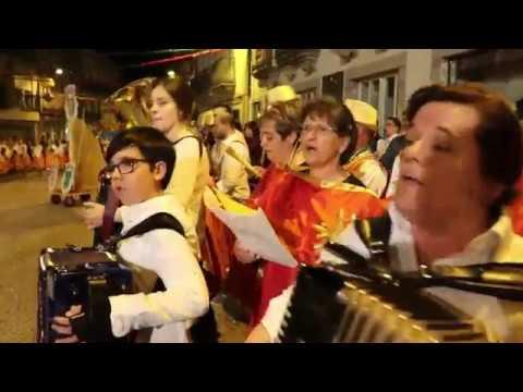 Marcha Constantim e Vale Nogueiras 2018 - despedida na capela