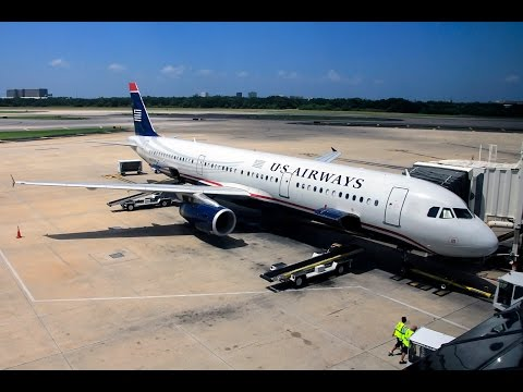 US Airways | Airbus A321 | PHL-TPA | First Class