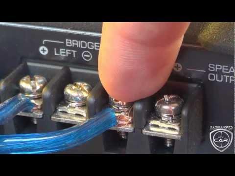 Schema Collegamento Equalizzatore Amplificatore : Installazione amplificatore auto darkluxifer youtube
