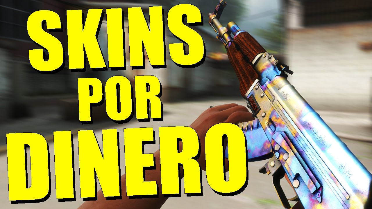 ¡VENDIENDO MIS SKINS POR DINERO REAL!   [skin.cash] - YouTube