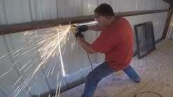 Install Window in Steel Building
