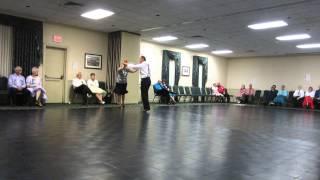 """11 CARLA & RICH EILENFELD DEMO """"SPAGHETTI RAG"""" AT 2013 PA STATE SQ & ROUND DANCE CONV"""