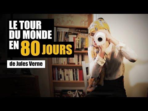 LE TOUR DU MONDE EN 80 JOURS DE JULES VERNE - MISS BOOK