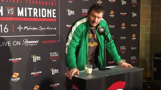 Matt Mitrione - Bellator 194 post fight press conference