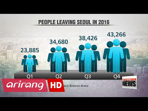 140,000 people moved out of Seoul in 2016 due to increasing financial burden
