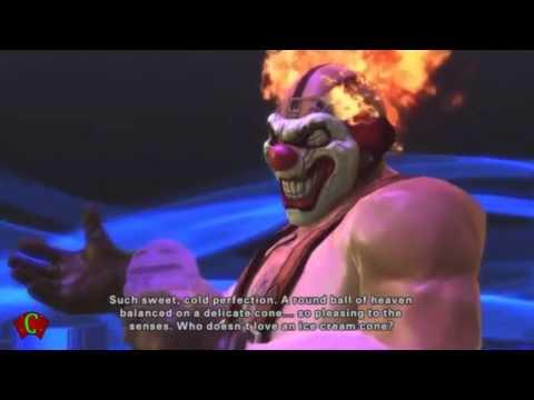 Playstation Allstars Battle Royale Cutscenes 'Sweet Tooth Rival' & Ending Cutscenes【HD】