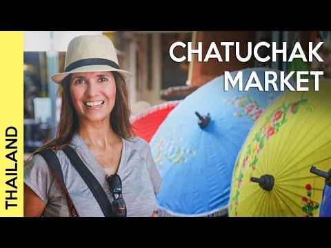 Chatuchak Market in BANGKOK, THAILAND | The Worl'd Biggest on weekends!