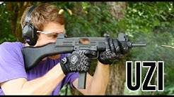 The Uzi Submachine Gun (Full Auto)