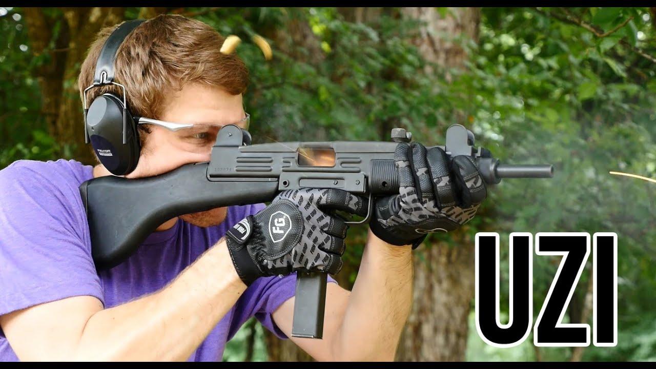The Uzi Submachine Gun (Full Auto)