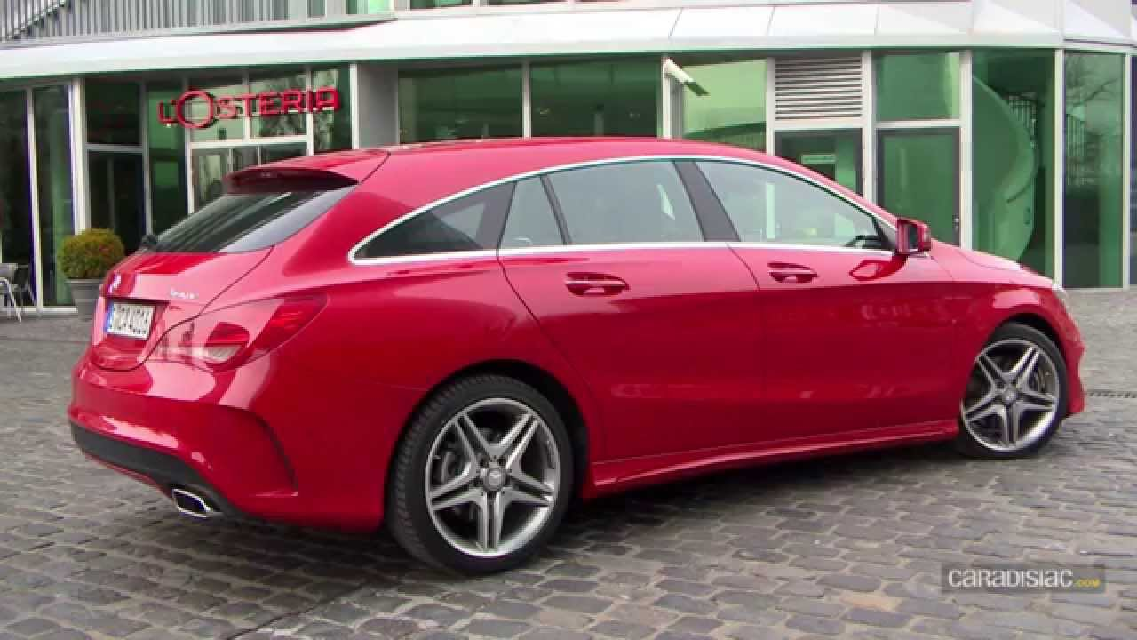 essai mercedes cla shooting brake youtube. Black Bedroom Furniture Sets. Home Design Ideas