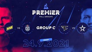 BLAST Premier Fall Groups: NAVI vs. OG, FaZe vs. Complexity   Group C, Day 1