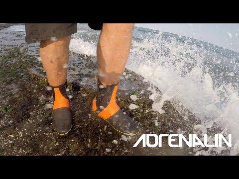 Rock Fishing - Be Safe. Wear Serious Rock Fishing Boots