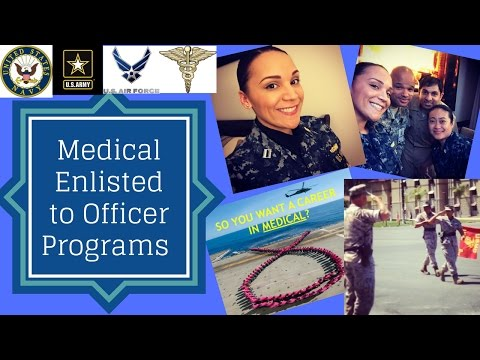 Navy Medical Enlisted To Officer Programs