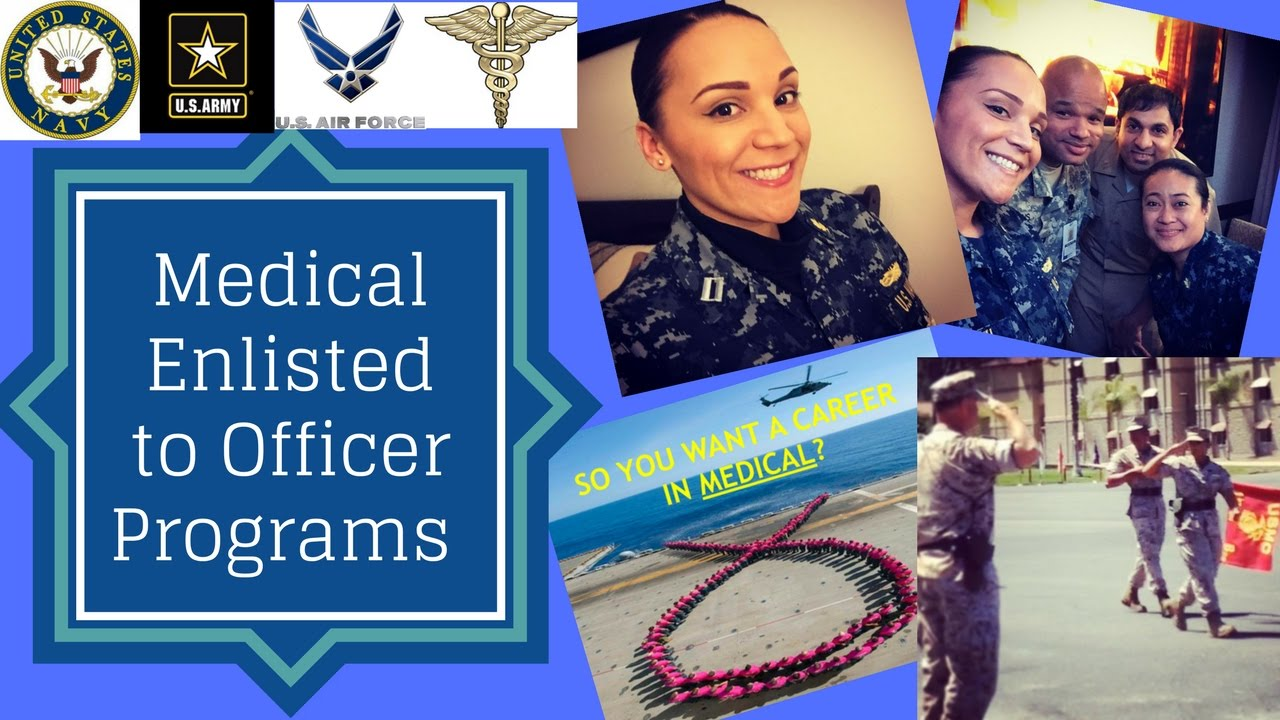 Navy Medical Enlisted to Officer Programs - YouTube