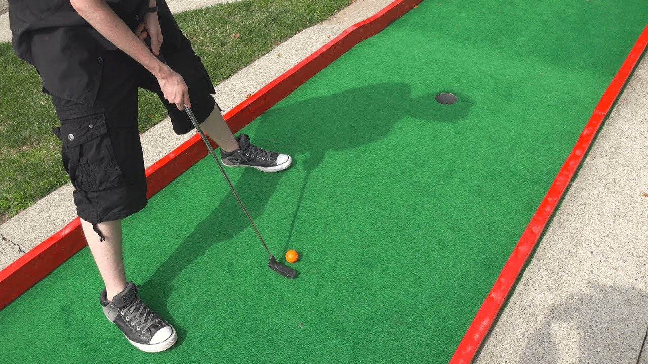 Once In A Lifetime Hole In One Mini Golf Adventures