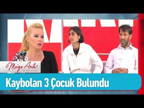 İstanbul'da kaybolan 3 çocuk bulund! - Müge Anlı ile Tatlı Sert 20 Haziran 2019