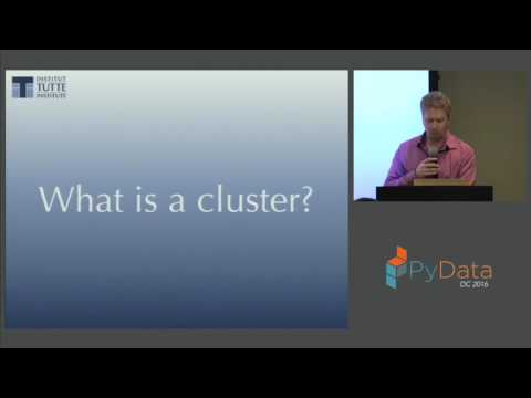 Leland McInnes, John Healy  Clustering: A Guide for the Perplexed
