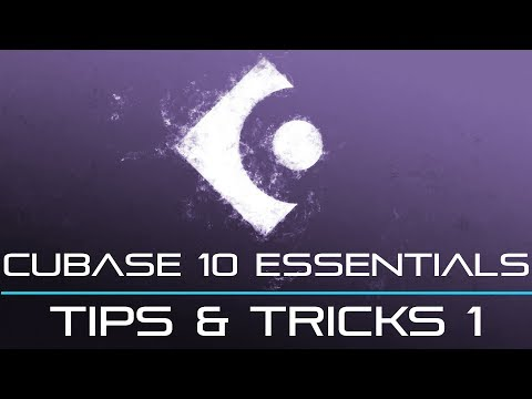 Cubase 10 and 9 – Tips And Tricks Part 1 – Super Helpful!