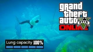 GTA 5 Online - Easiest Way to Max Lung Capacity! (GTA V)