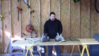 Porter Cable Left Handed Circular Saw Review