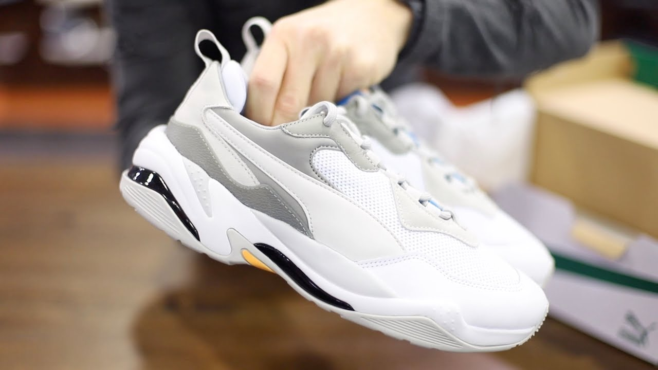 ada24c97d209d Unboxing Sneakers Puma Thunder Spectra White 367516-08
