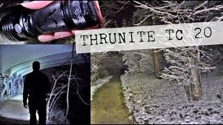 Thrunite TC 20 Taschenlampen Review mit Outdoor Test 3800 Lumen 320m Reichweite (4K)