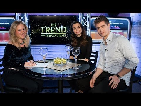 The Trend With Max Irons and Samantha Barks