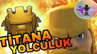 TİTAN LİGE YOLCULUK!! 3 STARS SALDIRILAR!! | Clash Of Clans. w/Beytullah