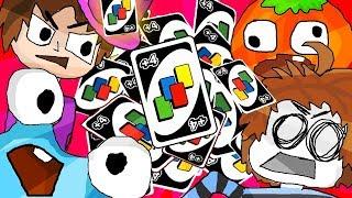 Die ewige Runde mit unendlich vielen +4 Karten | Uno