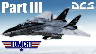 DCS: Encountering the Aim-54 Phoenix Part 3- F-14 Tomcat Mod Vs F-15 Eagle