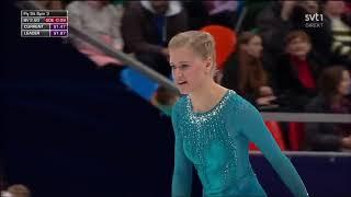 LaguPamitTulus jadi pengiring figure skater Slovenia Eropean Figure Skating Chionship 2018