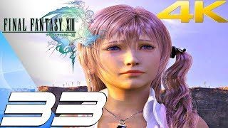 Final Fantasy XIII - Walkthrough Part 33 - The Proudclad Boss Fight [4K 60FPS]