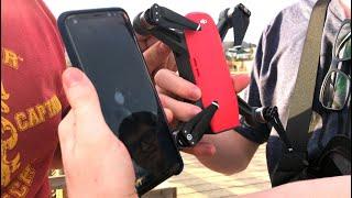 DJI Spark - MENOR DRONE faz filmagens INSANAS! 😱😱